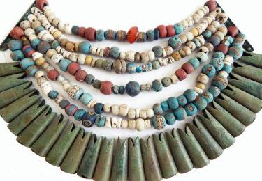 Ancient beads in Scandinavia