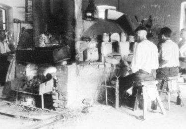 Fichtelgebirge Beadmaking furnaces